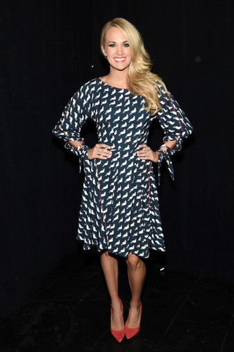 Get The Look: Carrie Underwood's Red Raye 'Tia' Heels | Country Music Today | Scoop.it
