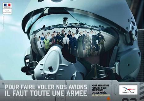L'armée de l'air recrute à l'aide d'un dispositif transmédia | TV, new medias and marketing | Scoop.it