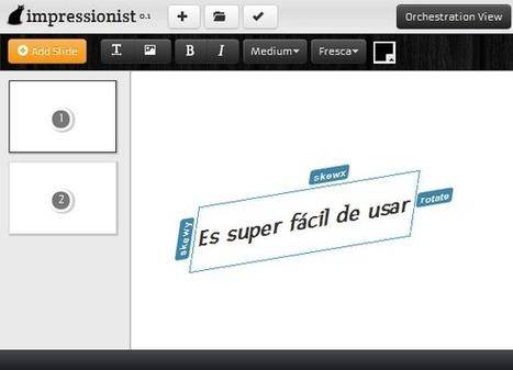 Olvídate de Powerpoint y comenza a usar impress.js | Capy.net | Interface, navegación e interactividad digital | Scoop.it