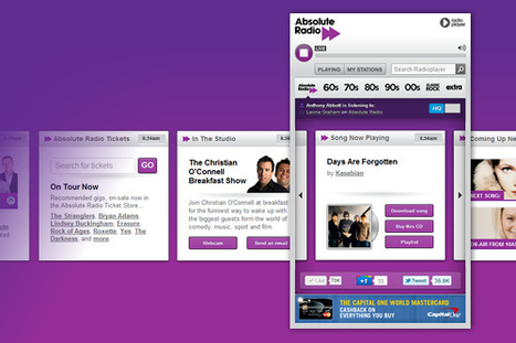 Absolute Radio's new radioplayer – a quick review | Radio 2.0 (En & Fr) | Scoop.it