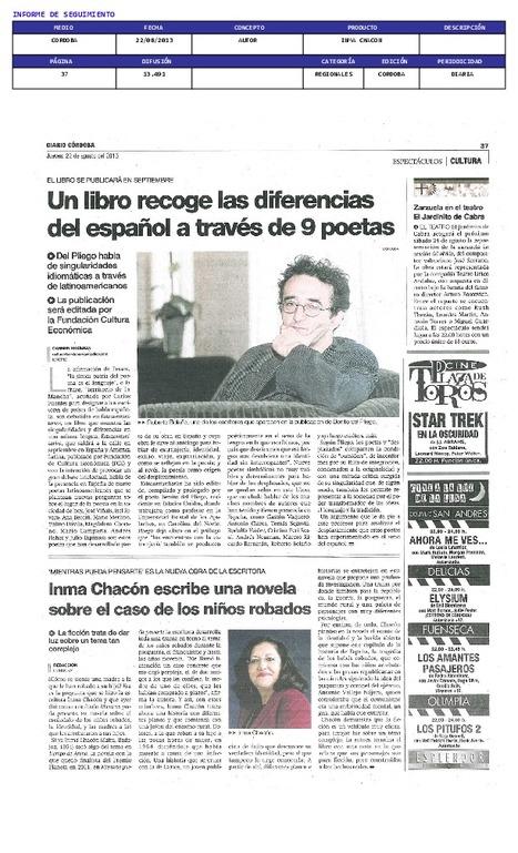 Diario de Córdoba | Inma Chacón | Scoop.it