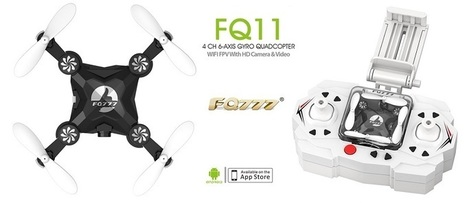 FQ777 FQ11W mini foldable quad | Quadcopter Flyers | Quadcopter Flyers | Scoop.it