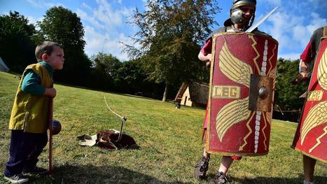 Les Gallo-Romains ont fait revivre leur quotidien, le temps d'une journée | LVDVS CHIRONIS 3.0 | Scoop.it