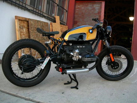 "BMW R80 ""HUMMEL"" by RODNEY AGUIAR 