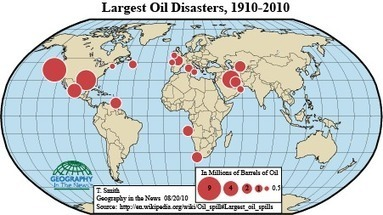 Geography in the News: Oil Spills   Humanities cache   Scoop.it