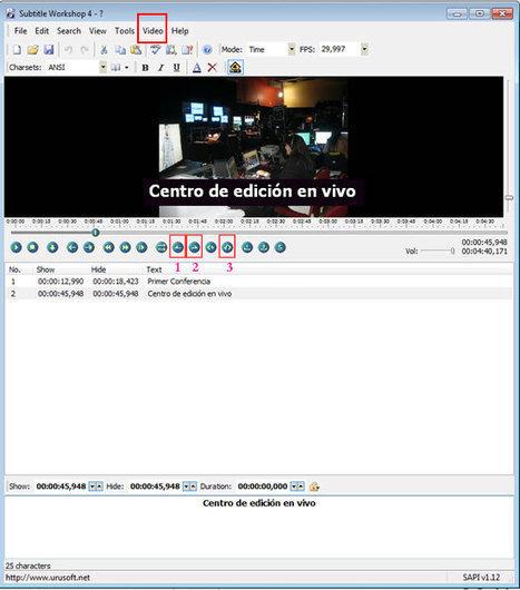 ¿Cómo agregar subtítulos a un video de Youtube? | Recull diari | Scoop.it