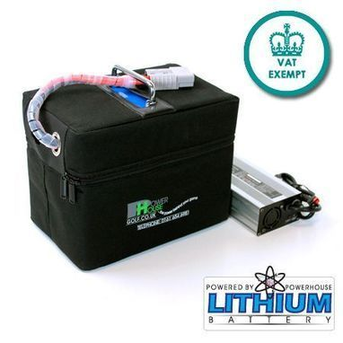 Powerhouse Golf introducing lightweight and compact -18 Hole Lithium Battery for Golf Buggies | PRLog | Golf Trolleys | Scoop.it