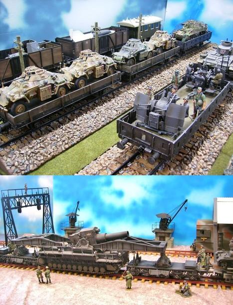Trains | Military Miniatures H.Q. | Scoop.it