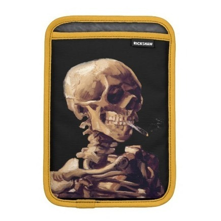 Smoking skeleton by Van Gogh | Unique and Customizable Gifts | Scoop.it