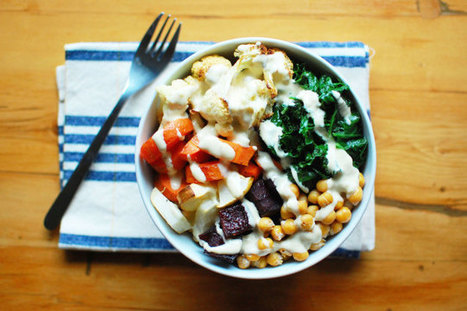 Roasted Root Vegetable Buddha Bowl (Vegan + Gluten-Free) | delphine's recipes | Scoop.it