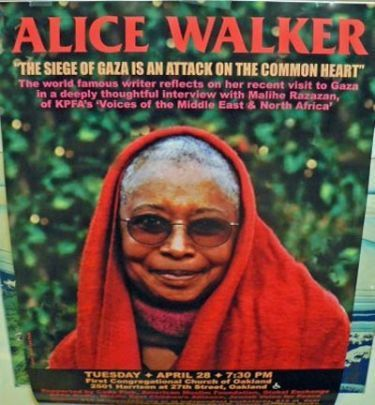 Alice Walker, the War Against the Jews, and Human Sacrifice - FrontPage Magazine | Biracial | Scoop.it