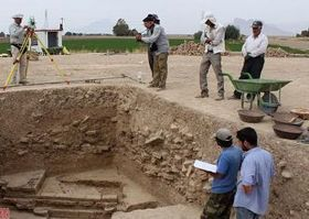 Ruins of huge ancient structure unearthed near Persepolis - Tehran Times | HISTORY | Scoop.it