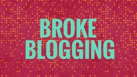 Daily Blogging is Broke Blogging | Search Engine Journal | Blogging | Scoop.it