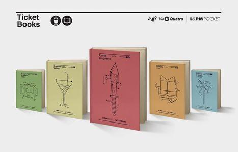 Ação em São Paulo transforma livros em bilhete do metro | Out of Home | Scoop.it