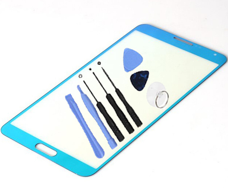 USPS Samsung Galaxy Note 3 N900A N900P N900V N900T Electroplated Baby Blue Front Outer Screen Glass Lens +8 Tools Set | newest phone accessories | Scoop.it