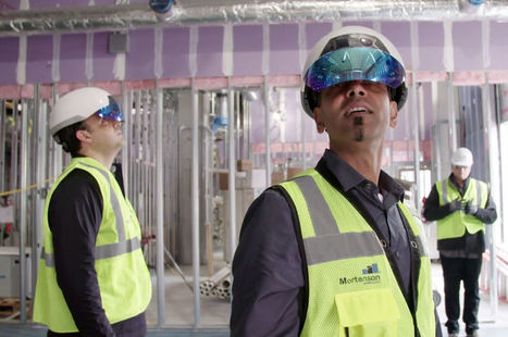 [Réalité augmentée] Mortenson fait appel à Daqri et Autodesk pour construire un centre médical   ISORE : Experts en projets durables   Scoop.it