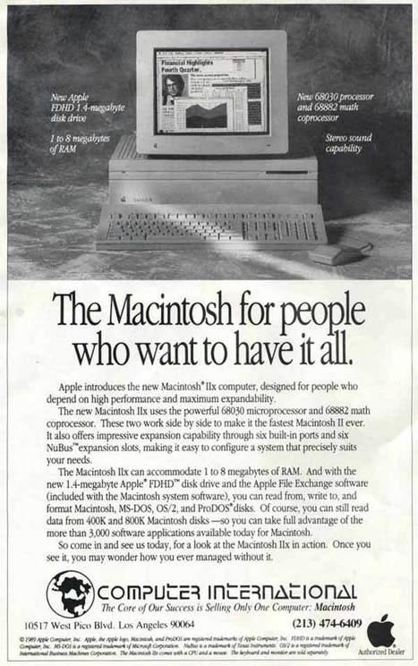 Evolution Apple Ads And Evolution of Apple Ads