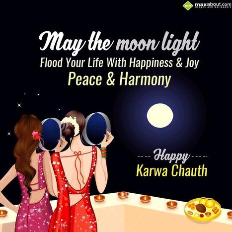 Karwa Chauth SMS & Status Messages | Maxabout SMS & Greetings | Scoop.it