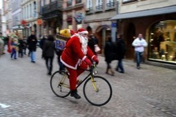 Scoop, le père Noël fait du vélo ! - Atelier Vélo Txirrind'Ola   mobilité en ville   Scoop.it