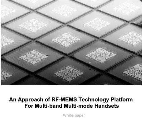 An Approach Of RF MEMS Technology Platform by DelfMEMS | DelfMEMS News | Scoop.it