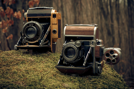 Discover the Gorgeous Hand-Crafted Custom Cameras of Dora Goodman | HANDMADE, DIY, REUSE, REDUCE, RECYCLE, UPCYCLE, RECREATE, RETHINK, etc | Scoop.it
