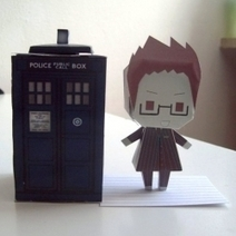 Doctor Who Papercraft | Creative Paper & Ephemera Art | Scoop.it