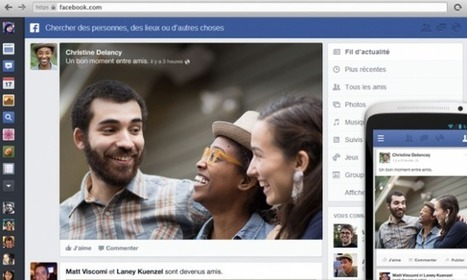 Facebook a désormais des airs de Google+ - FrAndroid | Social and digital network | Scoop.it