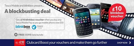 Pay As You Go PAYG Mobile Phones - Tesco Phone Shop | Mobile Phone deals | Scoop.it