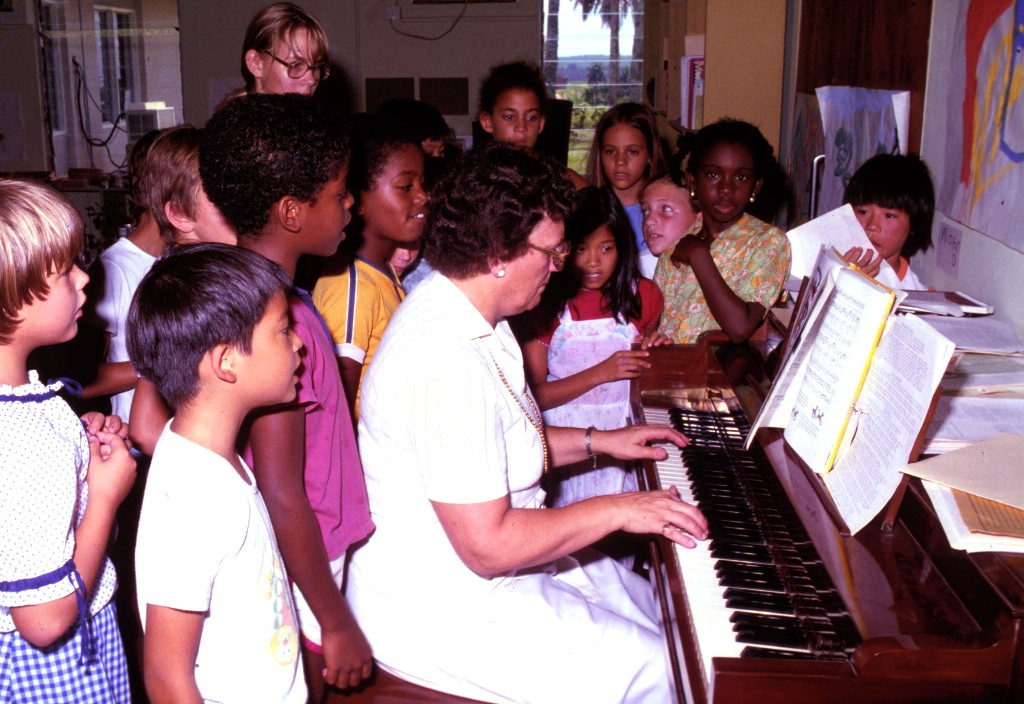 Just a few years of early musical training bene...