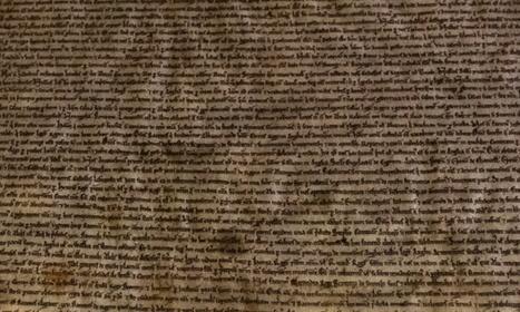 1300 edition of the Magna Carta found | L'histoire sur la toile | Scoop.it