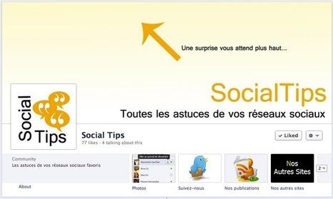 Petites astuces utiles pour animer une page Facebook | Lectures web | Scoop.it