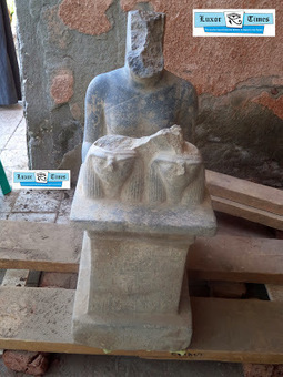 Luxor Times: Two New Kingdom statues discovered at Montu temple in Armant | The Related Researches & News of Dr John Ward | Scoop.it