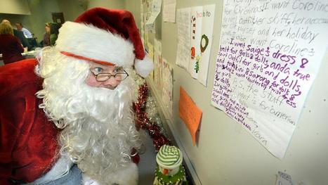 Heslam: Post office hopes to find a few elves to aid Santa | Boston Herald | Operation Santa Claus | Scoop.it