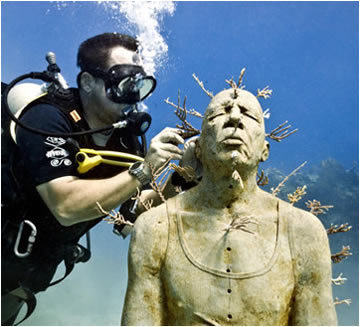 home - Underwater Sculpture by Jason deCaires Taylor | contemporary artists | Scoop.it