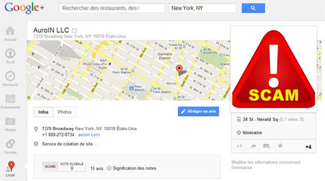Google+ Local: De faux avis créés par une agence SEO | 1 SEO FR | Scoop.it