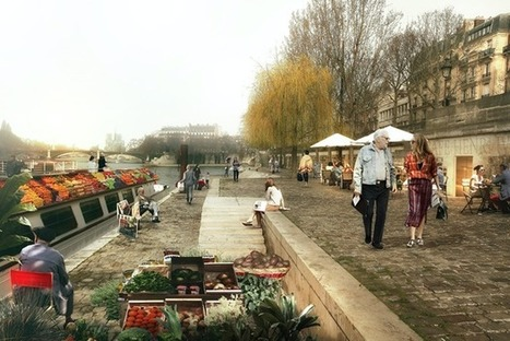 A Pedestrian-Only Future for the Seine | #territori | Scoop.it