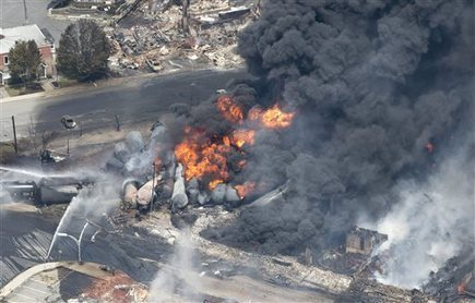 Pipelines are safer than trains and trucks, report says | Sustain Our Earth | Scoop.it