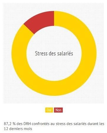 Sondage le stress au travail : comment est-il perçu et géré par les salariés et les RH ? | télétravail | Scoop.it