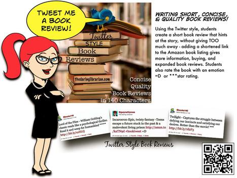 Twitter_Book_Reviews | School Library Activities | Scoop.it