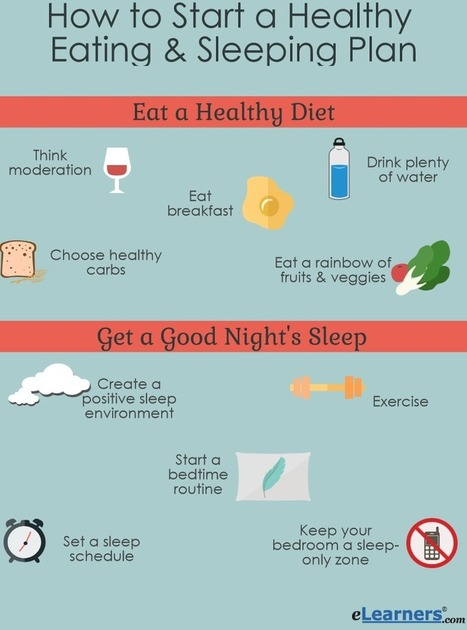 How to Start a Healthy Eating and Sleeping Plan | Online Education | Scoop.it
