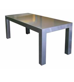 Dadra | Mesas de hierro y madera estilo industrial medida | MESA COMEDOR HIERRO NEO 10 CON SOBRE DE PLANCHA | Muebles de estilo industrial de hierro | Scoop.it