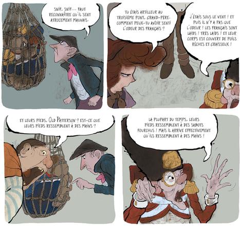 Histgeoblog: Le singe de Hartlepool : quand l'homme n'est plus cet animal doué de raison. | BD et histoire | Scoop.it