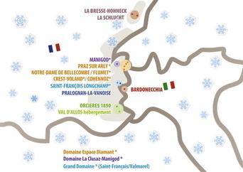 Onze stations de La Bresse à l'Italie | Stations de ski, parcs de loisirs, bons plans | Scoop.it