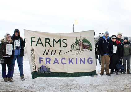 Blockade at PA Fracking Site Highlights Risks to Farms and Food | EcoWatch | Scoop.it
