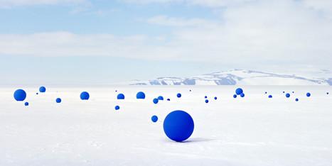 Artist Recreates Antarctic Night Sky In The South Pole's Largest Art Installation | Amocean OceanScoops | Scoop.it