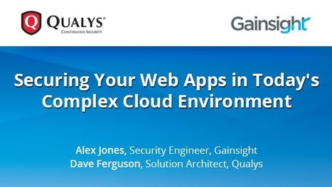 Securing Your Web Apps in Today's Complex Cloud Environment | Technology in Business Today | Scoop.it