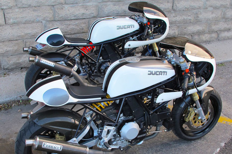 DucaChef | 1993 Ducati 900ss High & Low Pipe | Ducati Community | Cafe Racers | Scoop.it