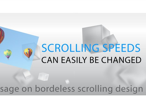 SCROLLSHOW: PARALLAX SCROLLING IN PRESENTATION | Presentation Scrollshow | Scoop.it