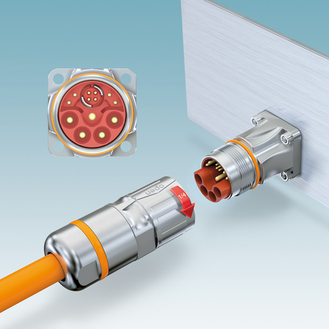 New M23 hybrid connectors for signal, data and power transmission - Automation World   Data Communications   Scoop.it