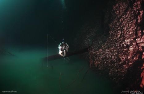 Oui, c'est bien une rivière sous l'eau   Merveilles - Marvels   Scoop.it